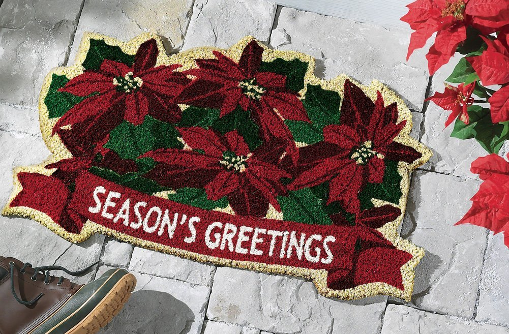 Seasons Greetings Door Mat