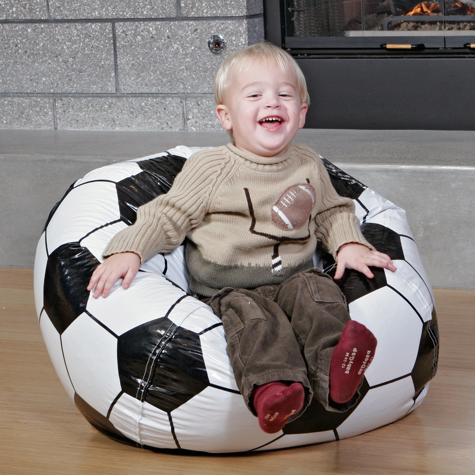 Soccer Ball Bean Bag for Boys