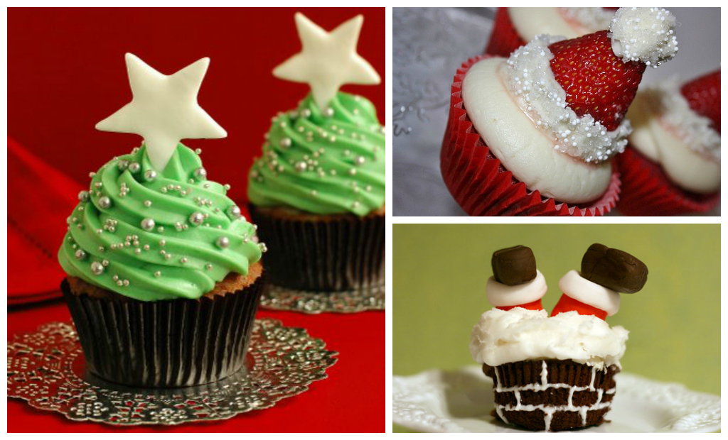 Special Christmas Cup Cakes
