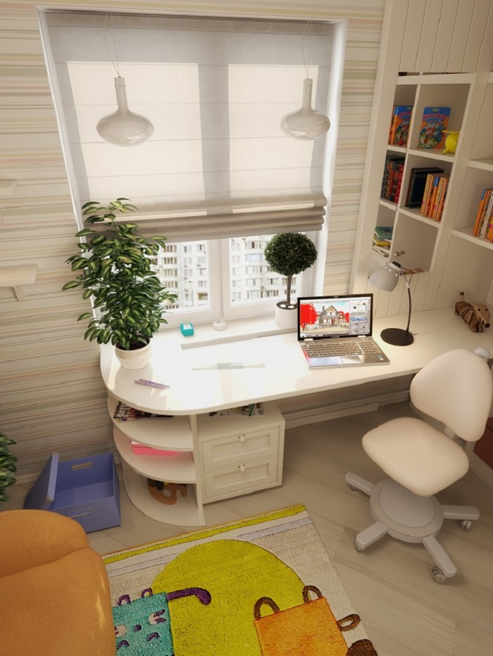 Study area for Kids in Home