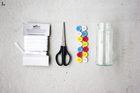 Supplies to make table organizer