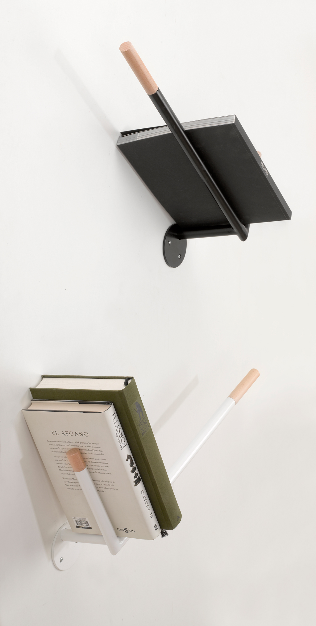 Tilt Design Book Shelves
