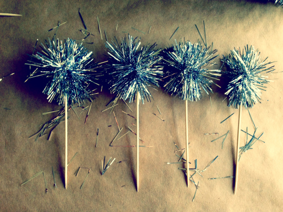 Tinsel Garland  Drink  Stirrer