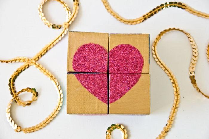 Valentines Block Puzzle