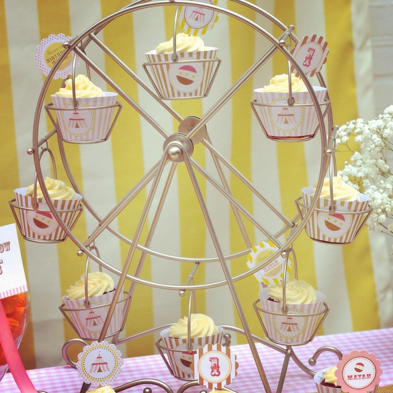 Wheel Cupcake Holder