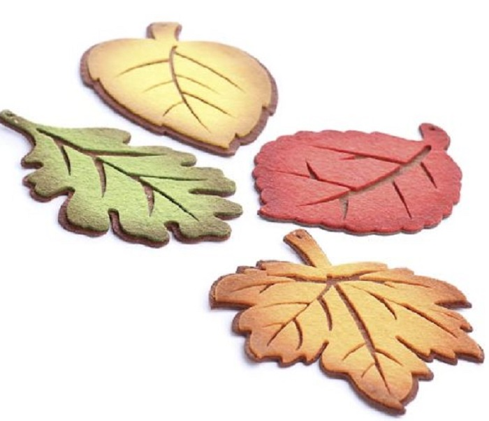 Autumn Felt Coasters
