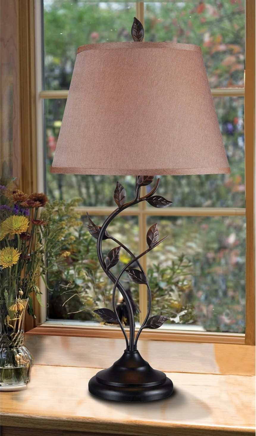 Bronze Finish Table Lamp
