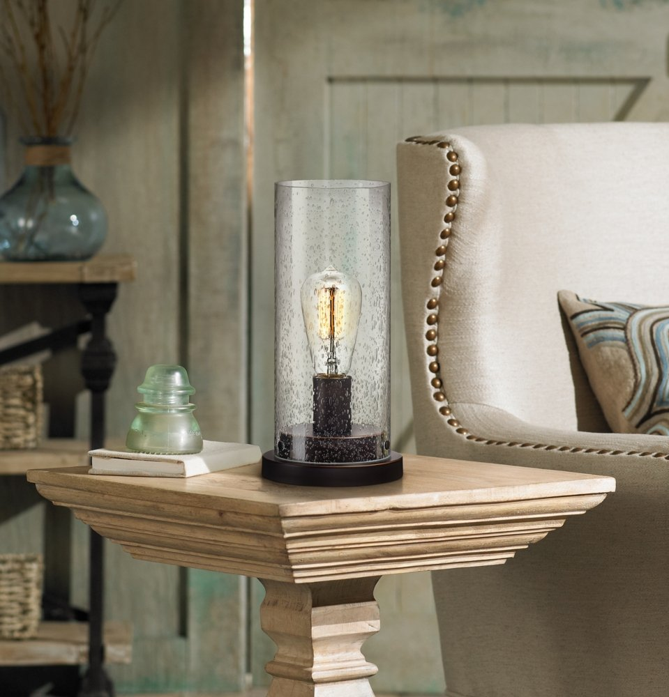 Glass Edison Bulb Accent Lamp