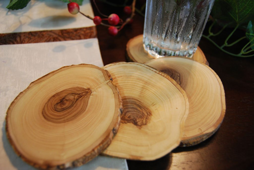 Handmade  Wood Coaster