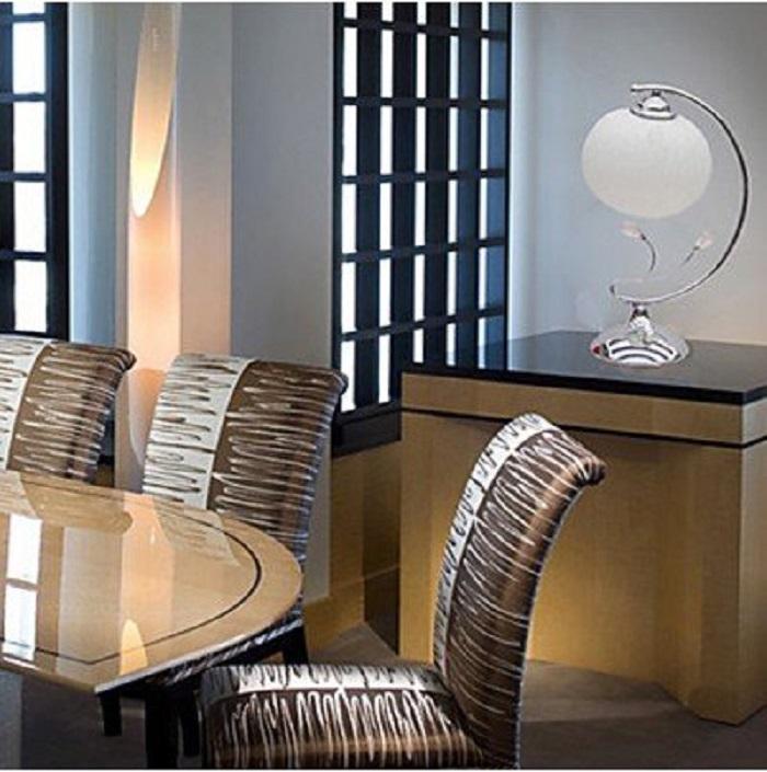 Modern Creative Table Lamp in Globe Shade