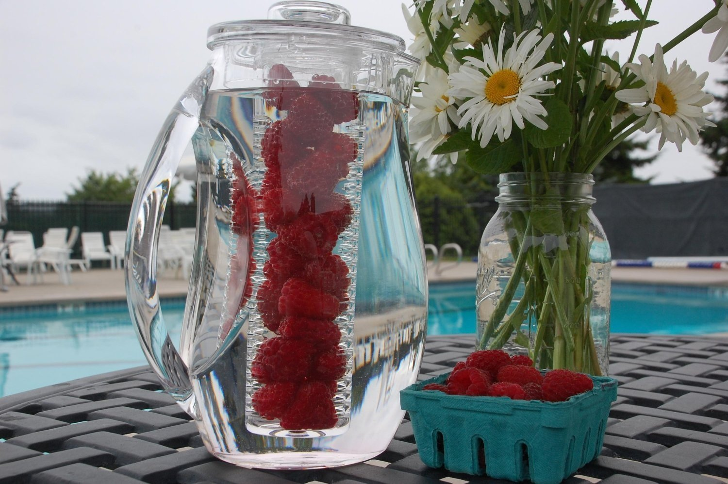 Natural Fruit Flavor Infusion Pitcher