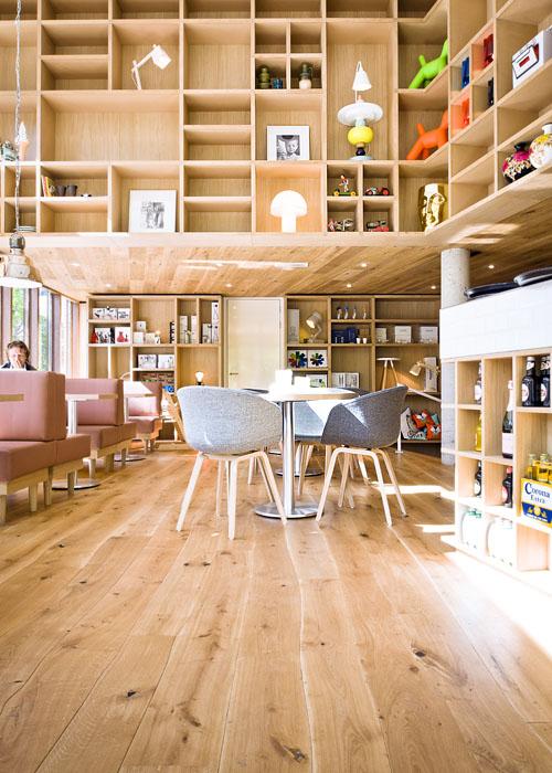 Oak Rustic Wooden Floor Pattern