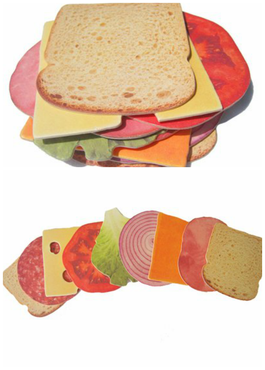 Sandwich Pattern Coaster