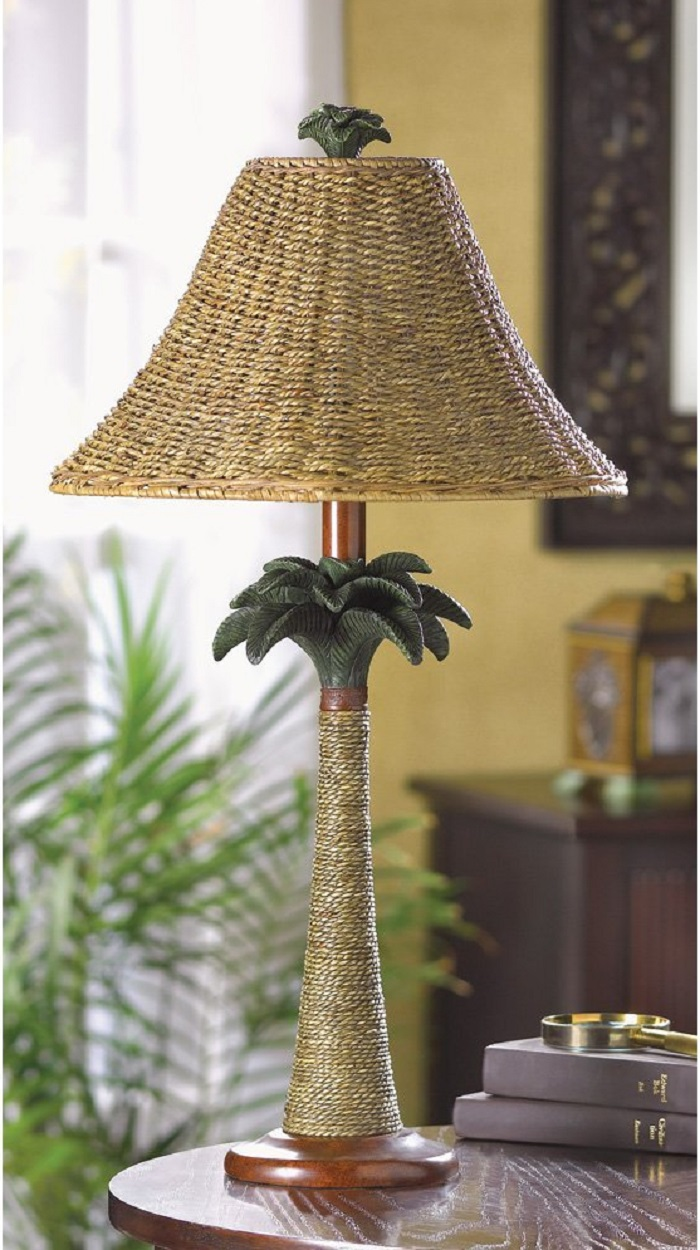Palm Tree Style Lamp Light  Decor