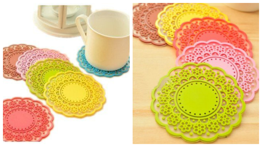 Translucent Lace Coaster