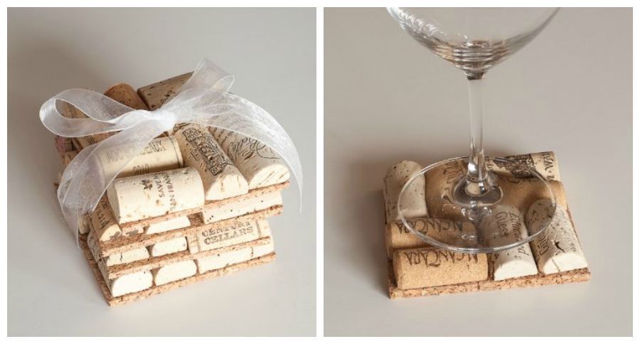 Wine Cork Coasters