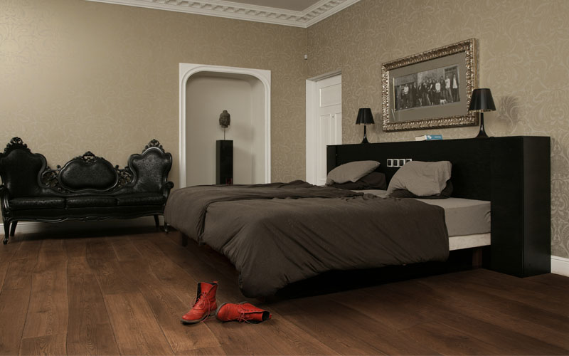 Wooden Floor in Bedroom