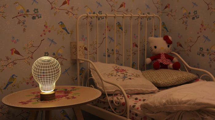 3D Lamp for Homes