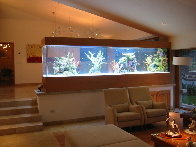 Aquarium patterns for home office home designing for Muebles de acuario