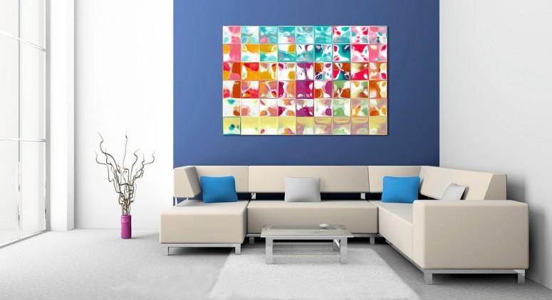 Blue Wall Design