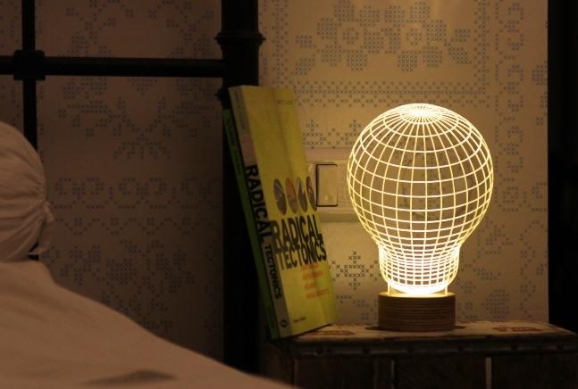 Flat LED Lamp