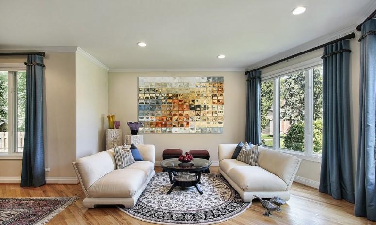 Twin Sofa Living Room