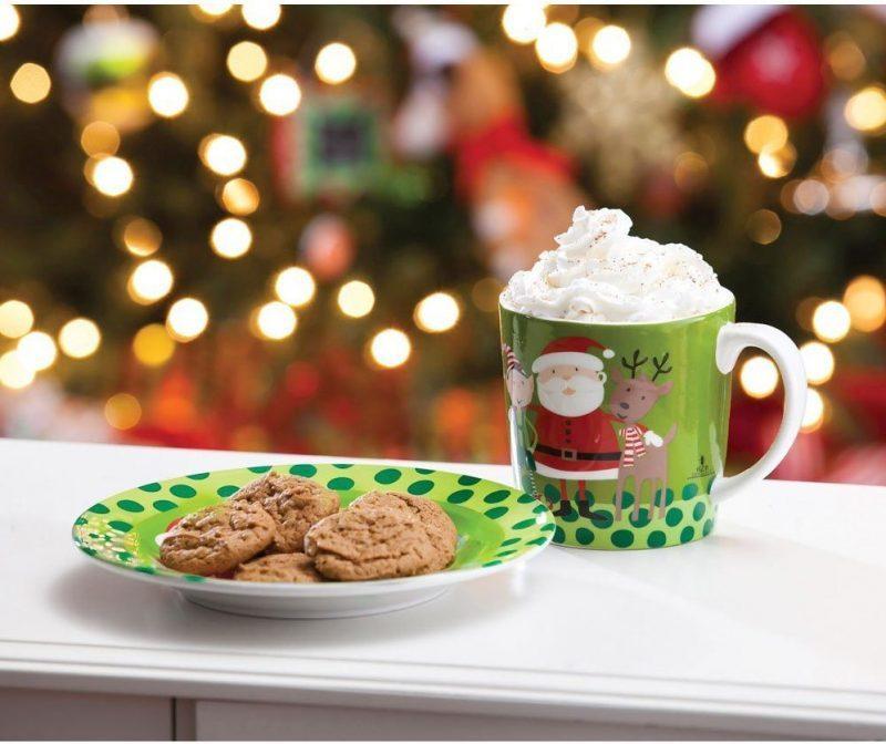 Nice Cookies for Santa Plate and Mug