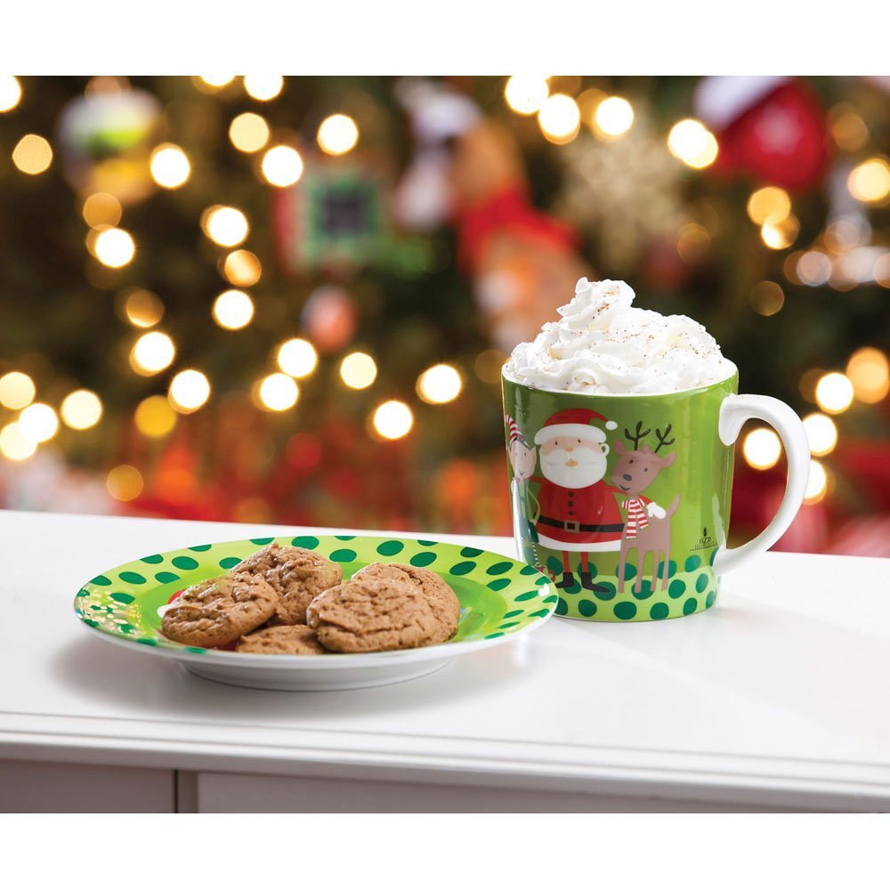 Nice Cookies for Santa Plate and Mug