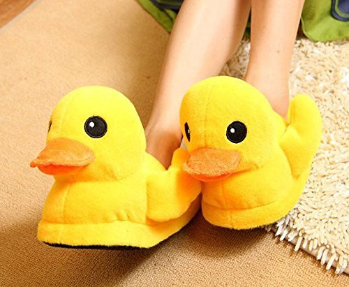 Cute Duck Winter Warm Slipper
