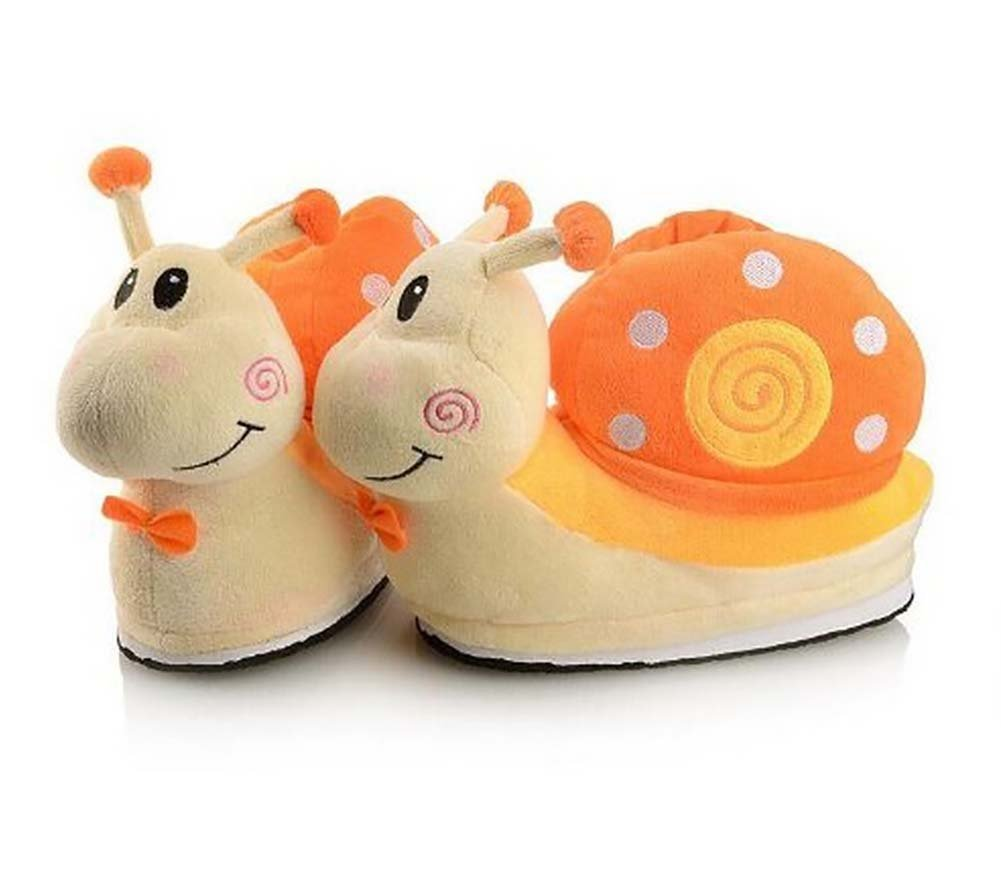 Cute Winter Warm Snail Cotton Ladies Slipper