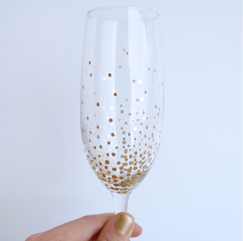 Do it Yourself Champagne Glass