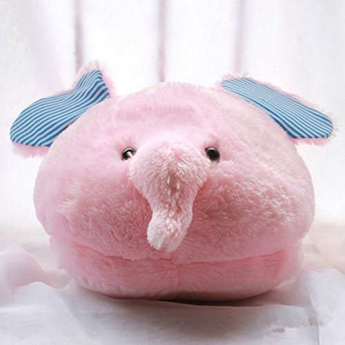 Elephant Pink Warmth Plush Slippers