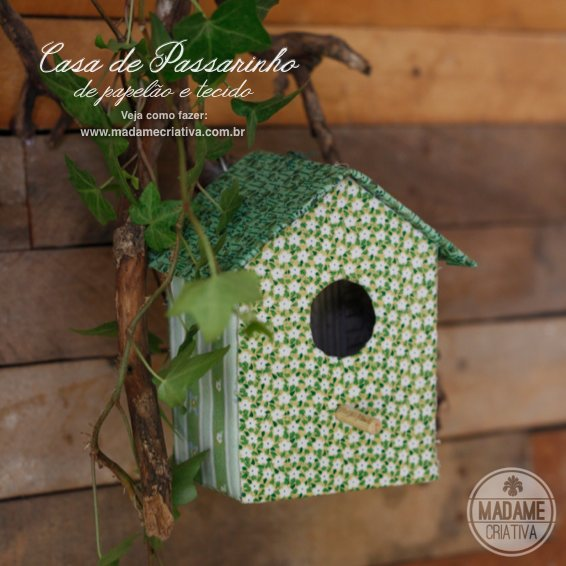 Handmade Bird House for Wall Decoration