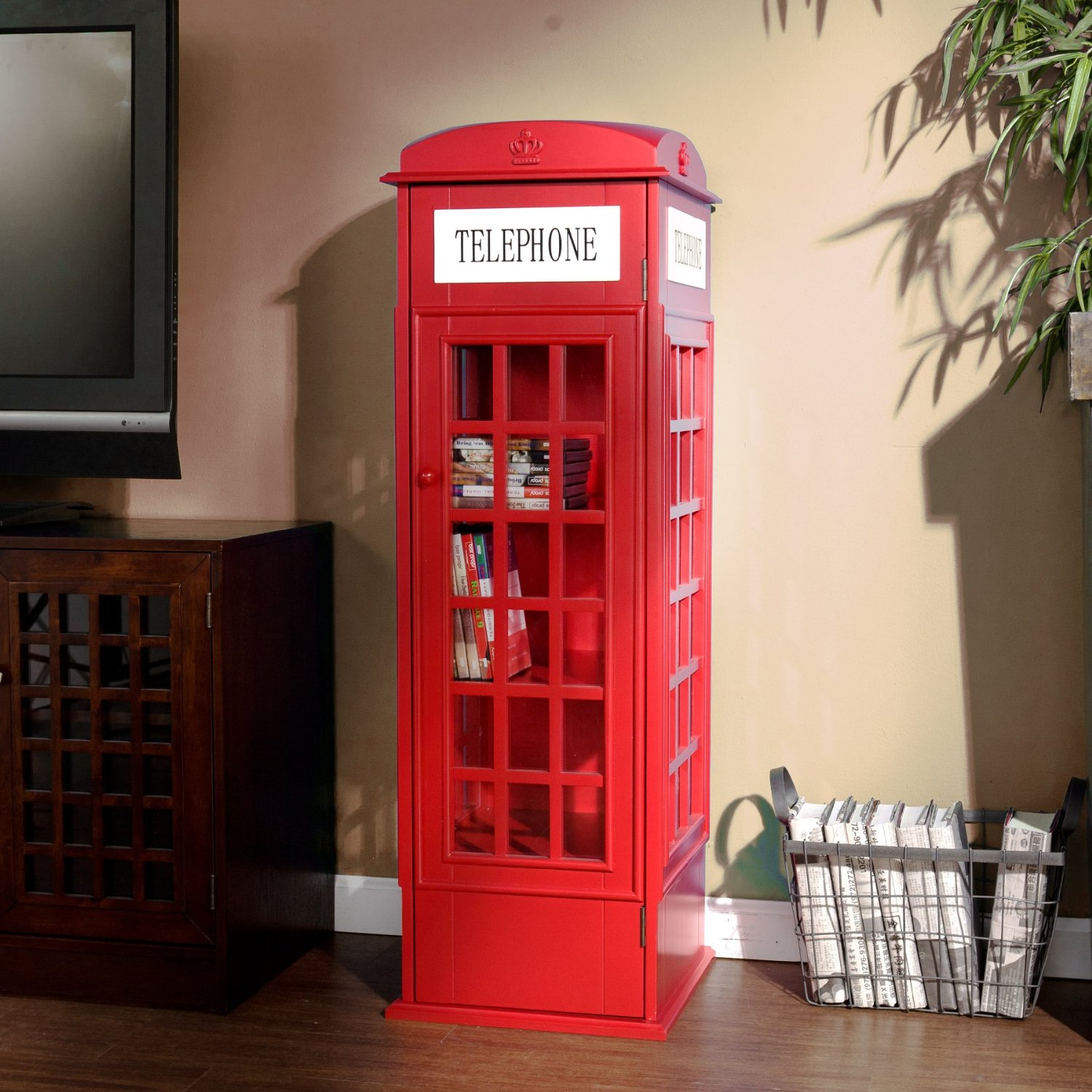 Phone Booth Cabinet for Storage