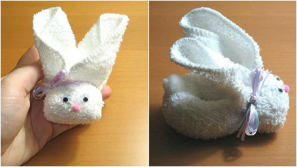 Adorable Towel Bunny