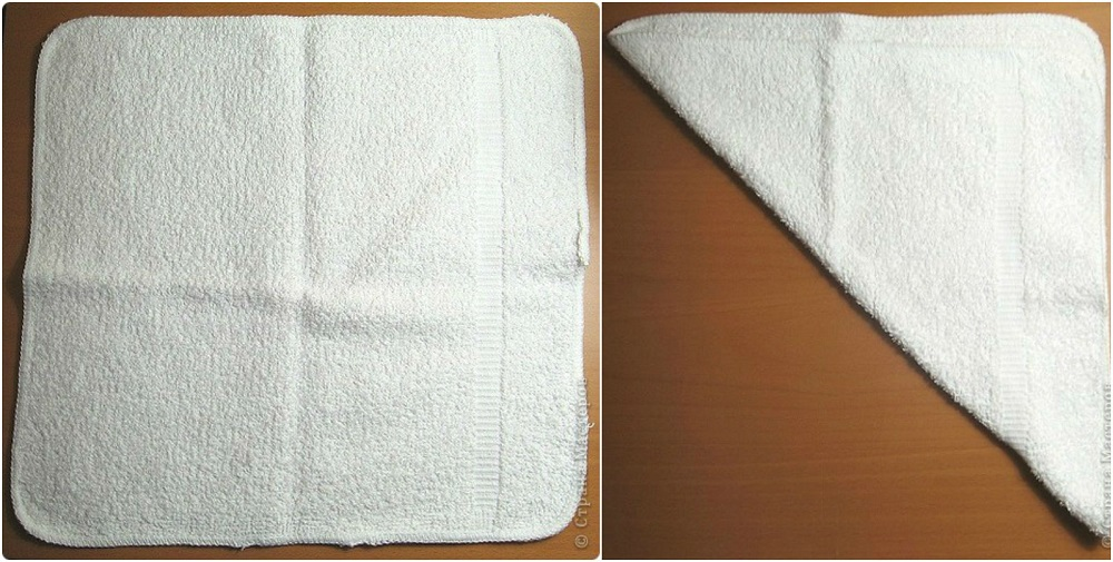 How to make Towel Bunny