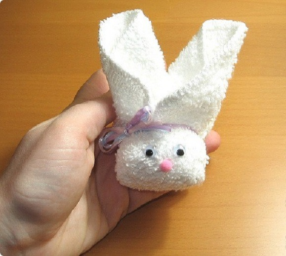 Adorable Bunny - Towel Art