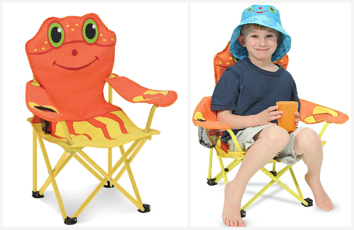 Crab beach chair for kids