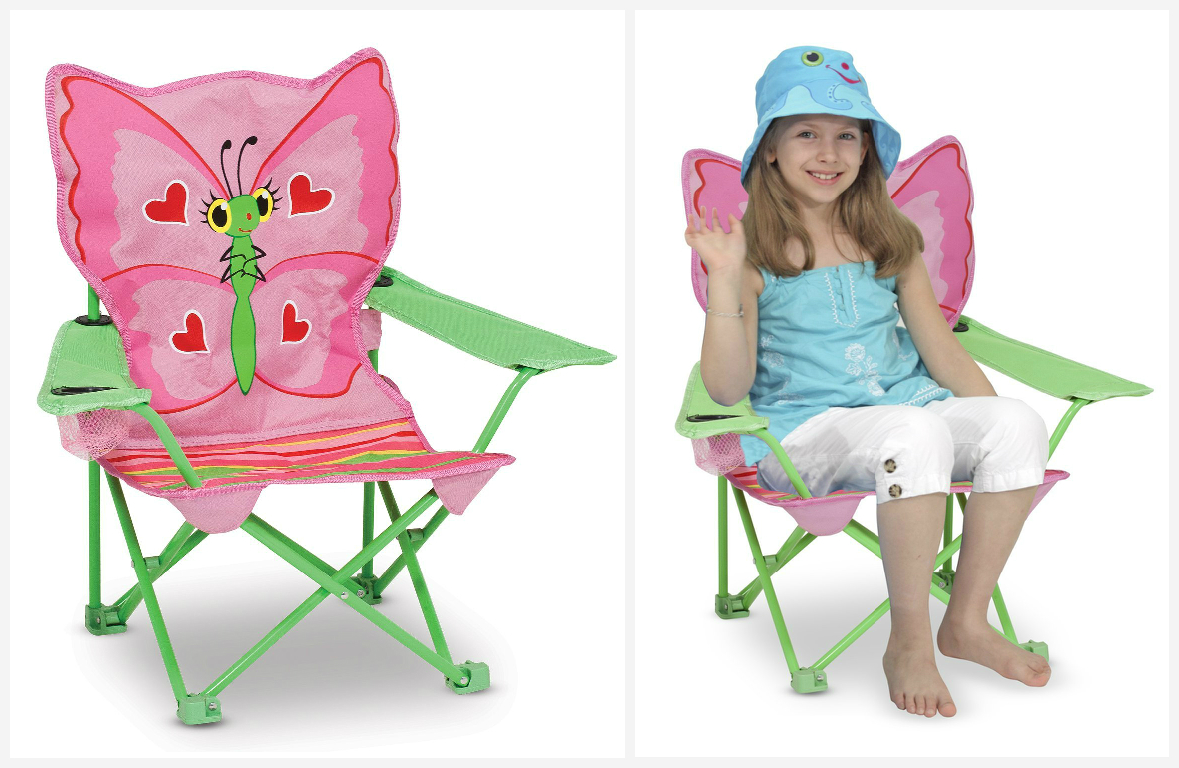 Foldable beach chair for kids