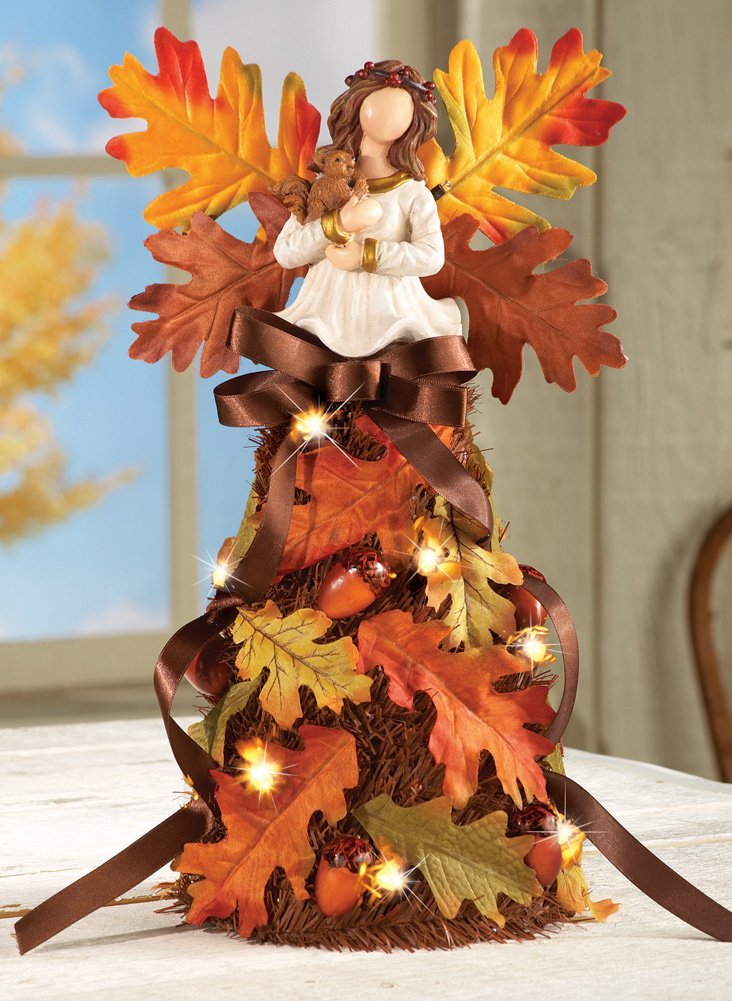 Angel Maples Leaves Decor Thanksgiving Home  Decoration