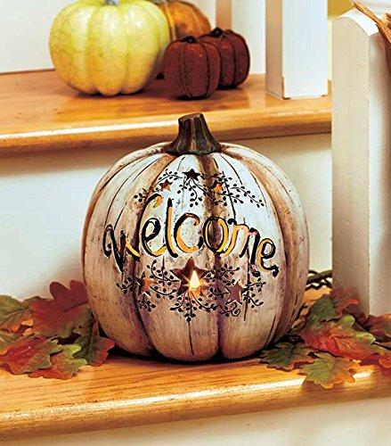 Lighted Pumpkin Stars Cut Out  Thanksgiving Decor