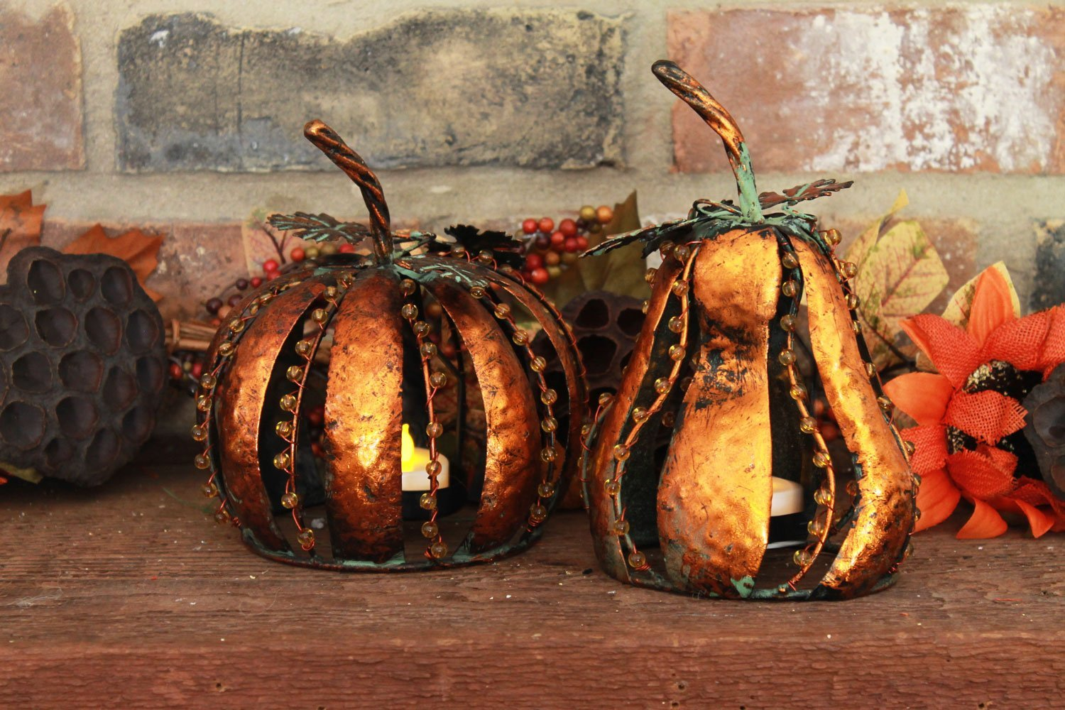Thanksgiving  Candleholders Table Decoration