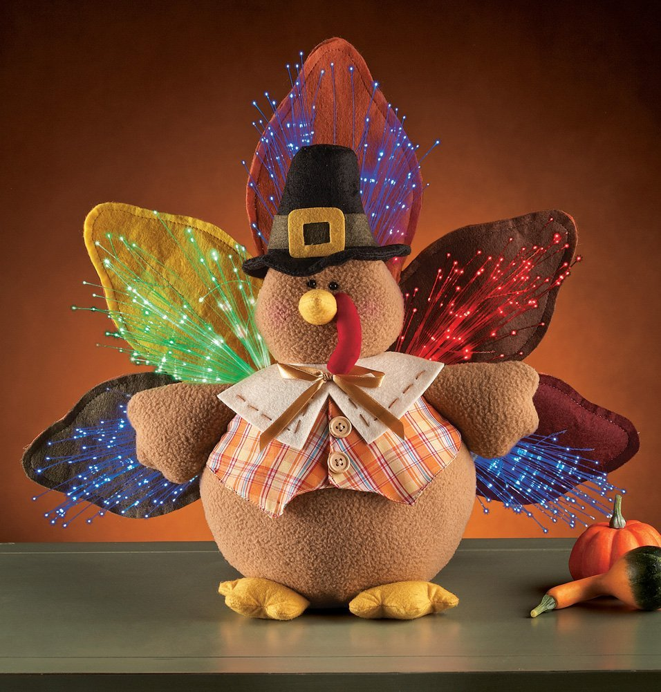 Thanksgiving Lighted Turkey