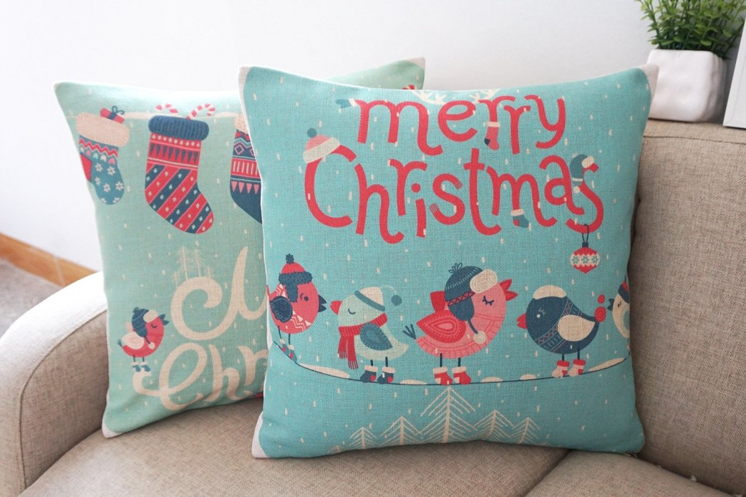 chic christmas santa shabby com top linkwell home heavy throw best accent pillows pillow