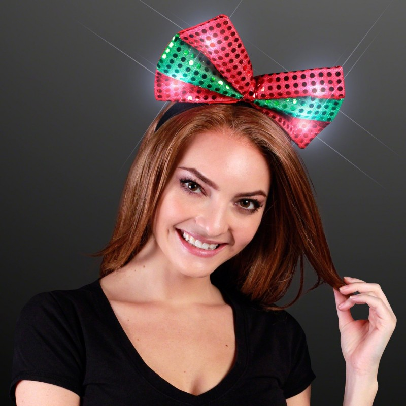 Christmas Bow Headband