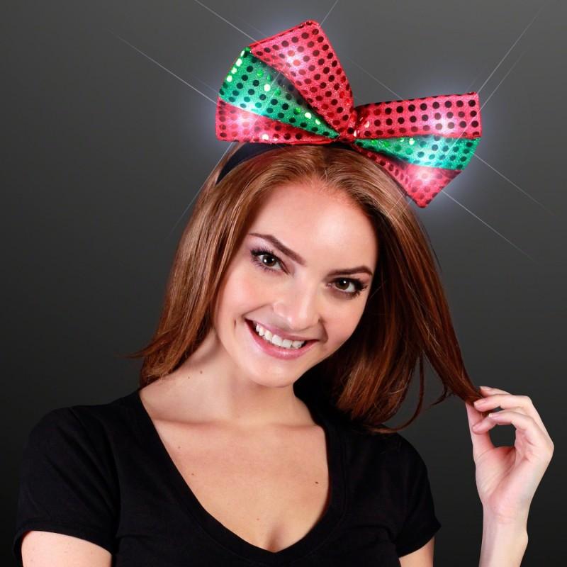 Christmas Bow Headband