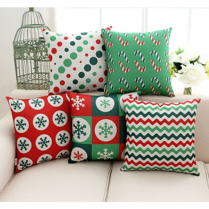 Christmas Cushion Case for Sofa