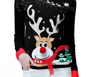 12 Cutest Women's Ugly Christmas Sweater