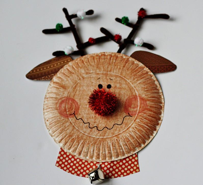 DIY Christmas Rudolph