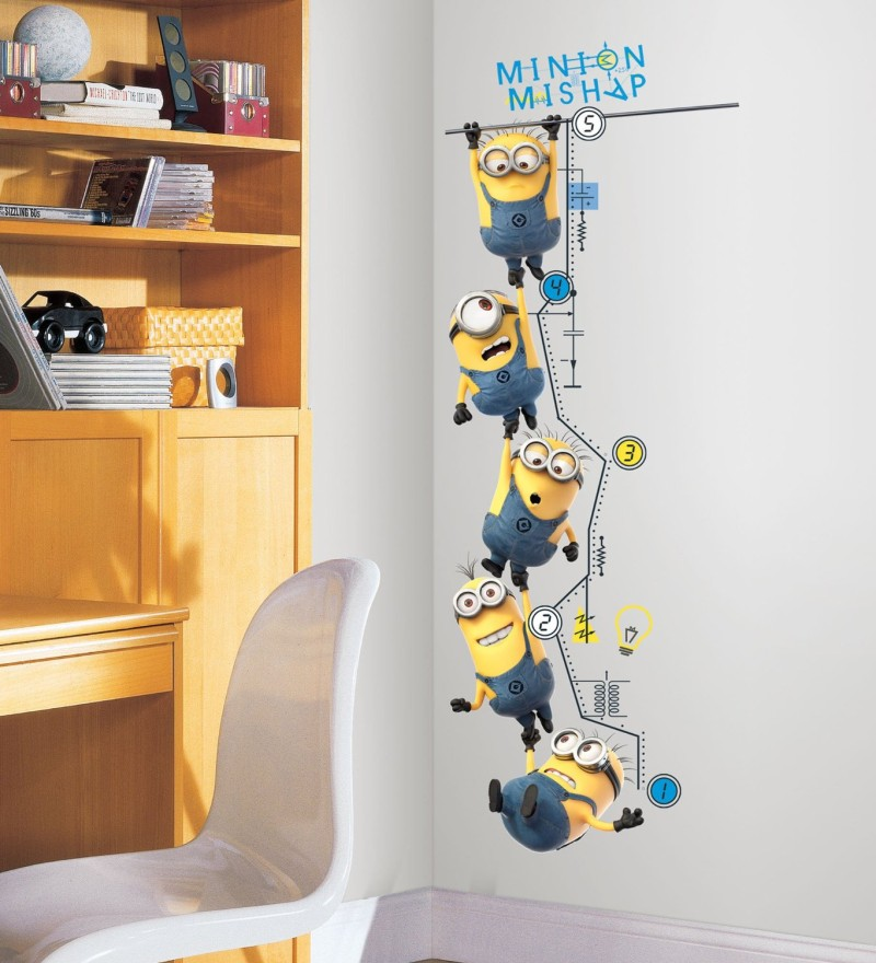Despicable Me 2 Growth Chart Wall Decals